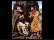 Savoldo Giovanni Girolamo Sant'Antonio abate e San Paolo