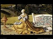 Schaffner Martin Tavola dipinta per Erasmus Stedel  (dettaglio)