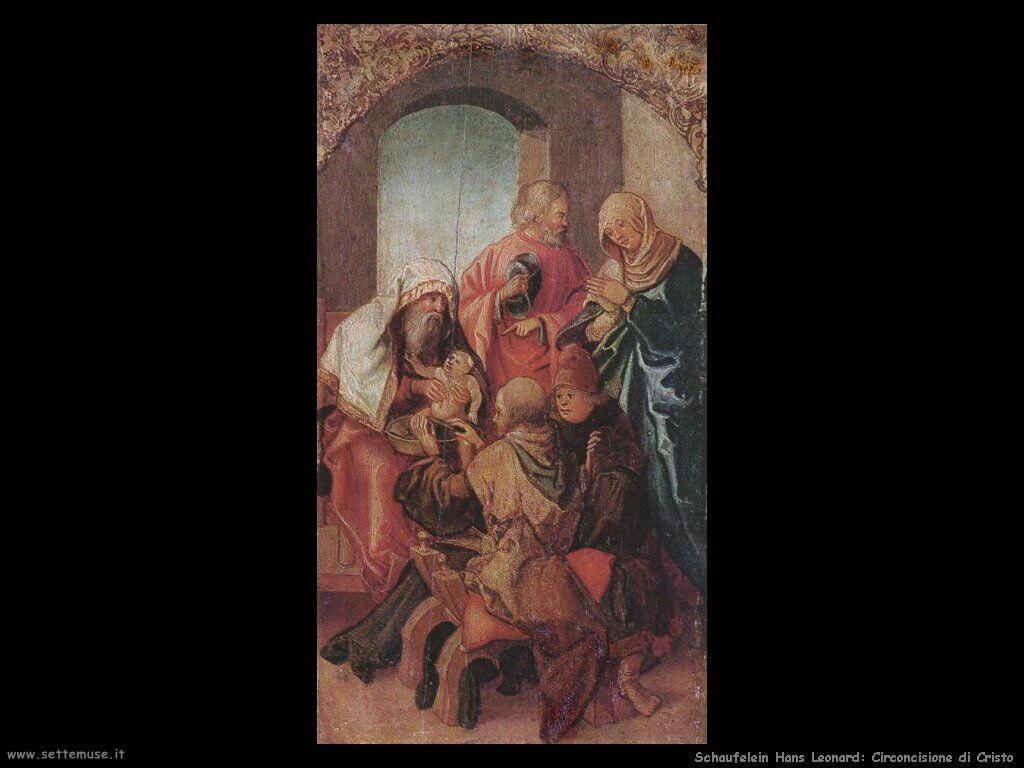 Schaufelein Hans Leonard La circoncisione di Cristo