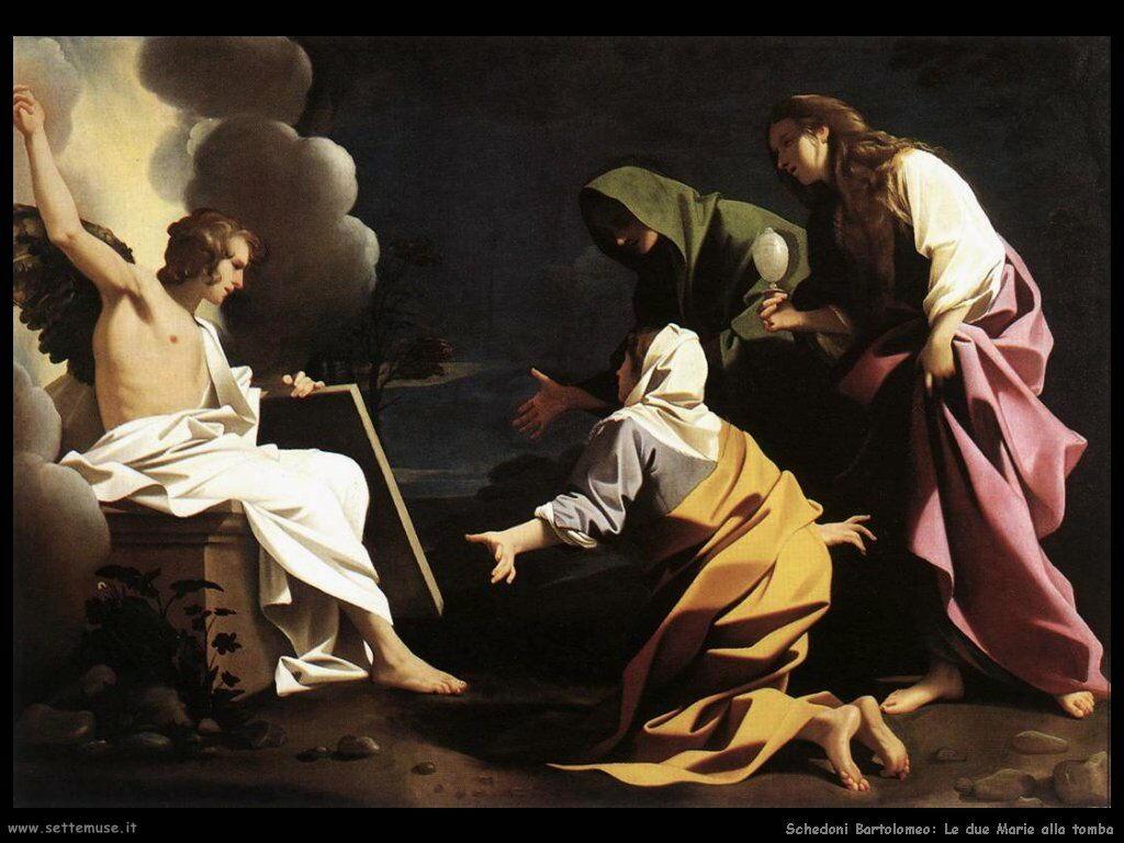 Schedoni Bartolomeo Le due Marie alla tomba