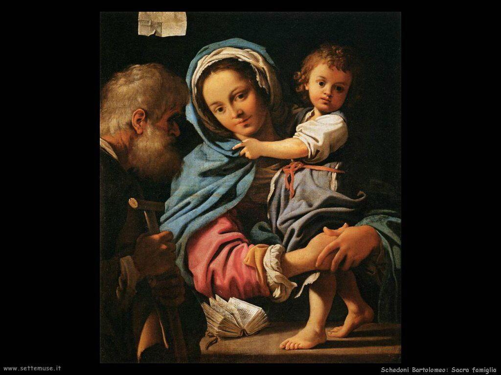 Schedoni Bartolomeo La Sacra Famiglia