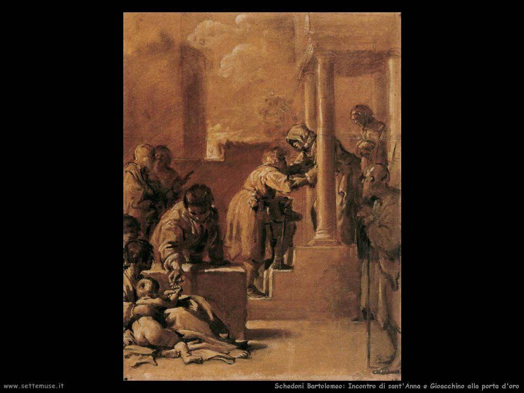 Schedoni Bartolomeo L'incontro di sant'Anna e Gioachino alla Porta d'Oro