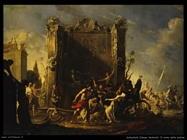 Schenfeld Johann Heinrich Il ratto delle Sabine