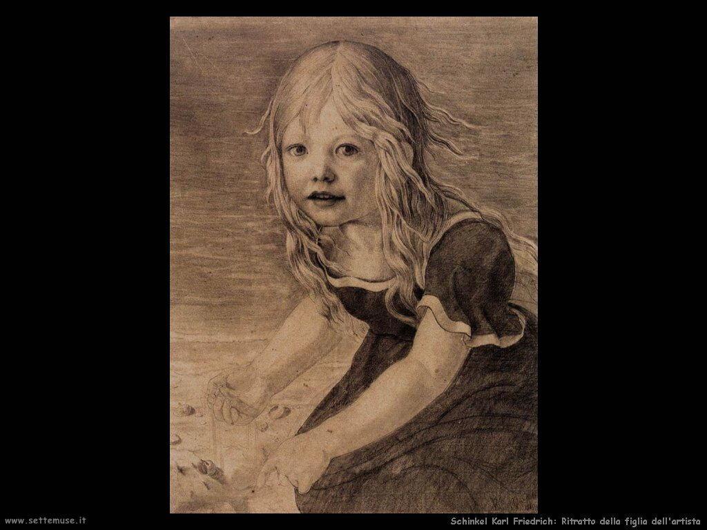 Schinkel Karl Friedrich Ritratto della sorella dell'artista