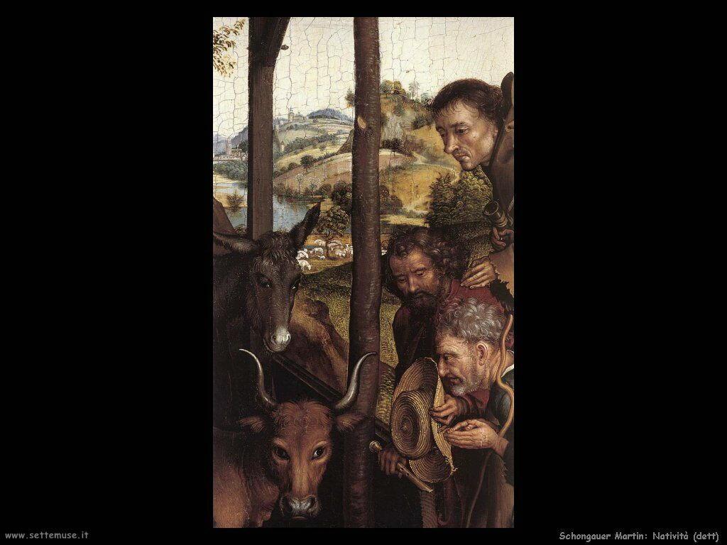 Schongauer Martin Natività