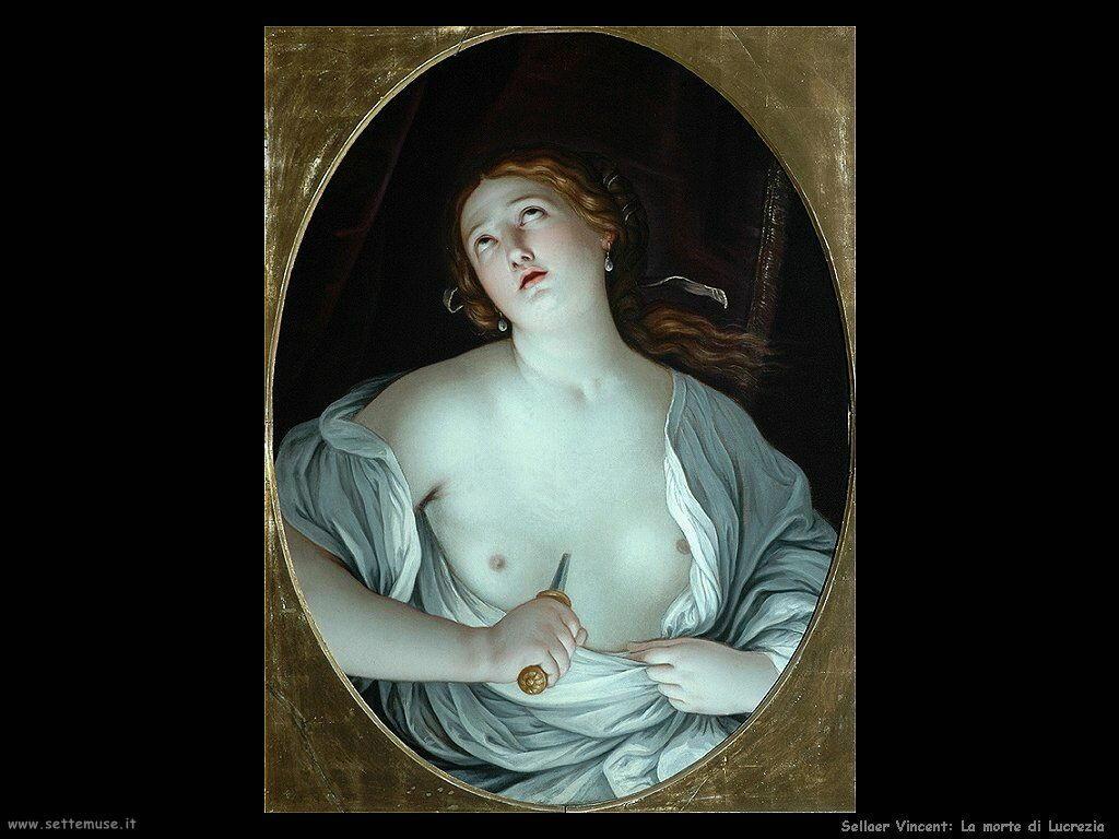 Sellaer Vincent Morte di Lucrezia