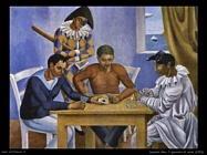 Severini Gino I giocatori di carte (1924)