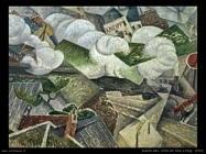 Severini Gino Arrivo del treno a Parigi  (1914)