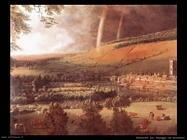 Siberechts Jan Paesaggio con arcobaleno