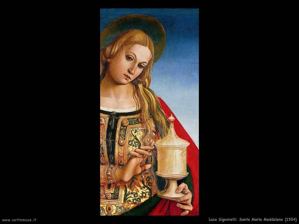 Signorelli Luca santa maria maddalena 1504