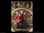 Signorelli Luca madonna bambino uffizi 1490