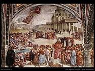 Signorelli Luca- sermone e gesta dell'anticristo