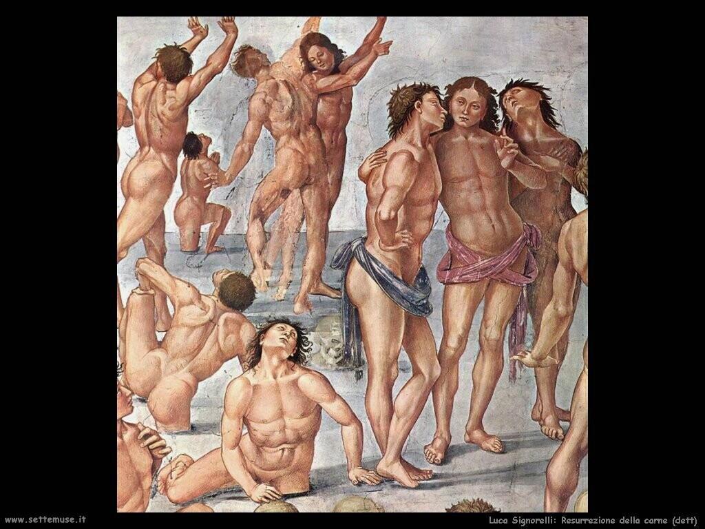 Signorelli Luca - resurrezione della carne