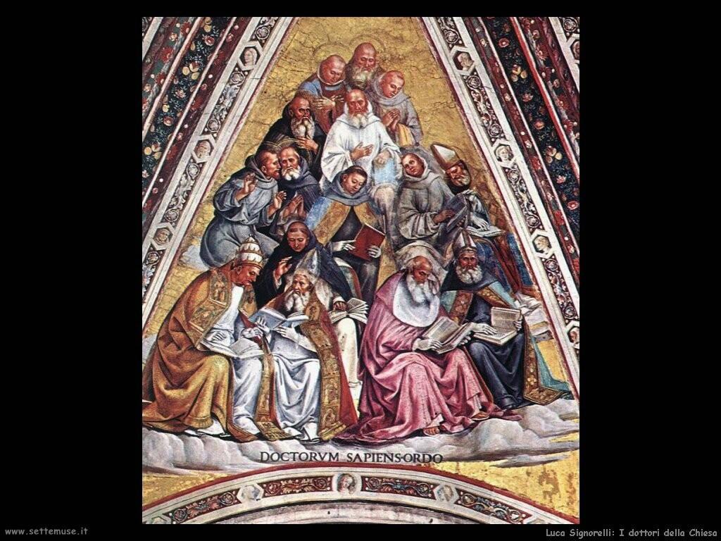 Signorelli Luca - i dottori della Chiesa