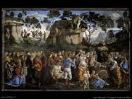 Signorelli Luca - testamento e morte di Mosè