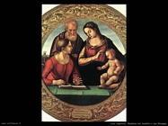 Signorelli Luca - Madonna e bambino con san Giuseppe