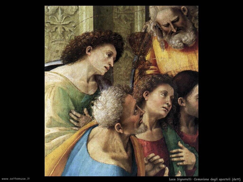 Signorelli Luca - comunione degli apostoli