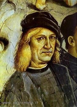Autoritratto di Luca Signorelli