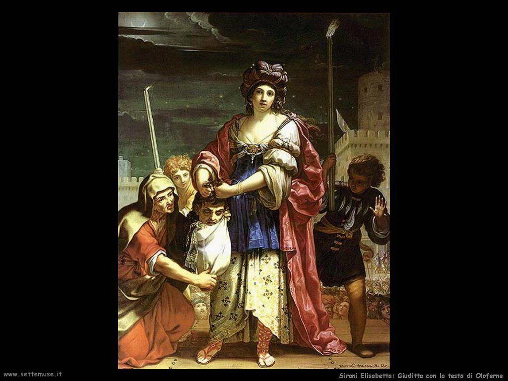 Sirani Elisabetta Giuditta con la testa di Oloferne