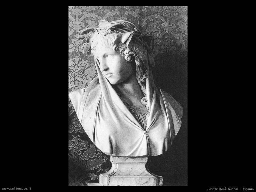 Slodtz Rene Michel Ifigenia principessa di Diana