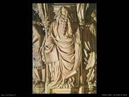 Sluter Claus Memoriale, particolare di Mosè