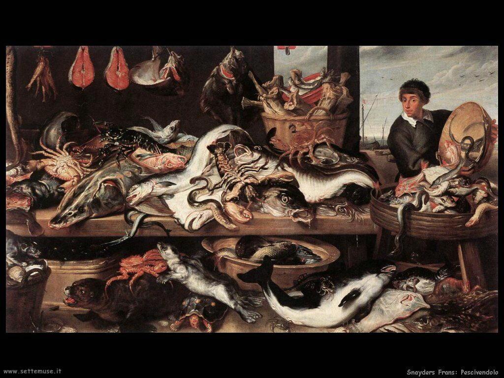 Snyders Frans Dal pescivendolo