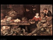 Snyders Frans Bancarella di frutta e verdura