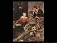 Snyders Frans Bancarella di frutta e verdura (particolare)