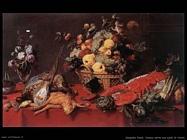 Snyders Frans Natura morta con cesto di frutta