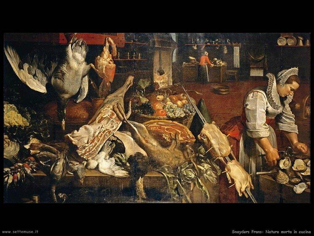 Snyders Frans Natura morta di pollame