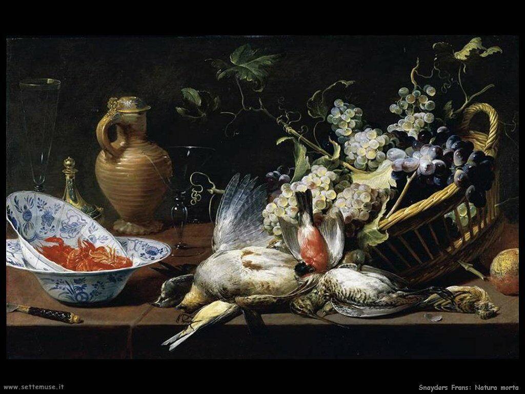 Snyders Frans Natura Morta