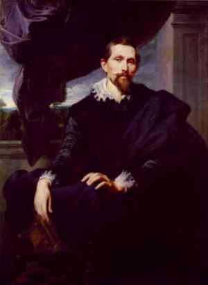 Frans Snyders ritratto da Van Dick