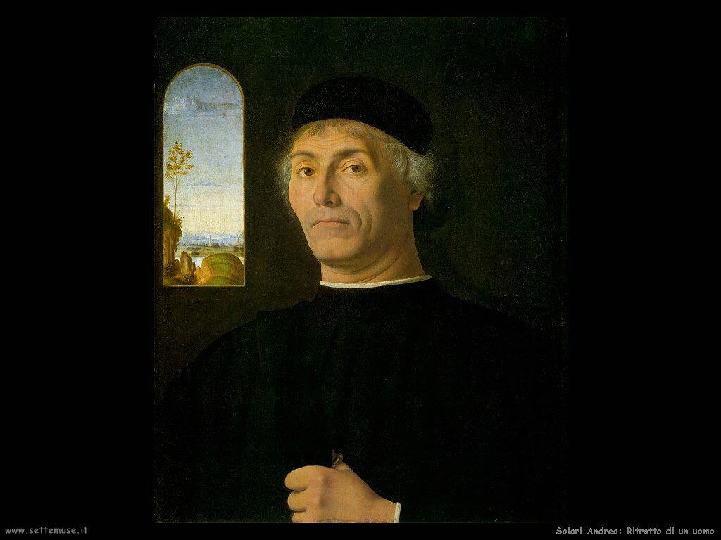 Solario Andrea Ritratto di uomo
