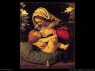 Solario Andrea Madonna del cuscino verde