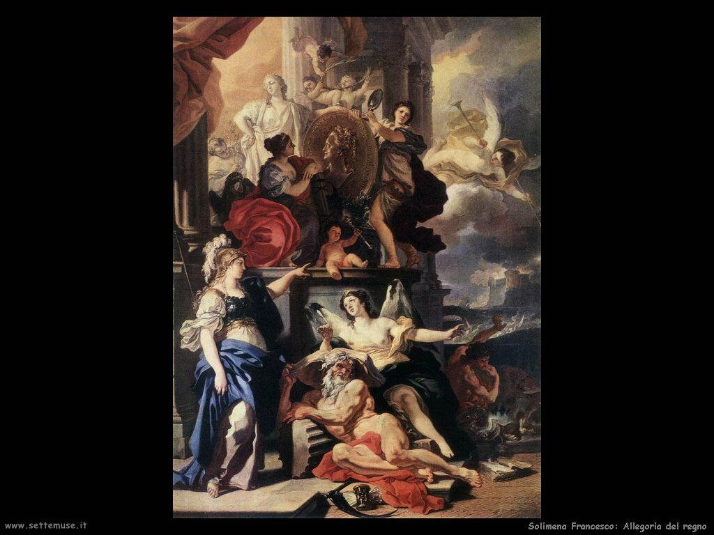 Solimena Francesco Allegoria del regno
