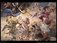 Solimena Francesco San Gaetano tranquillizza l'Angelo divino