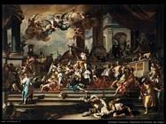 Solimena Francesco Cacciata di Eliodoro dal tempio