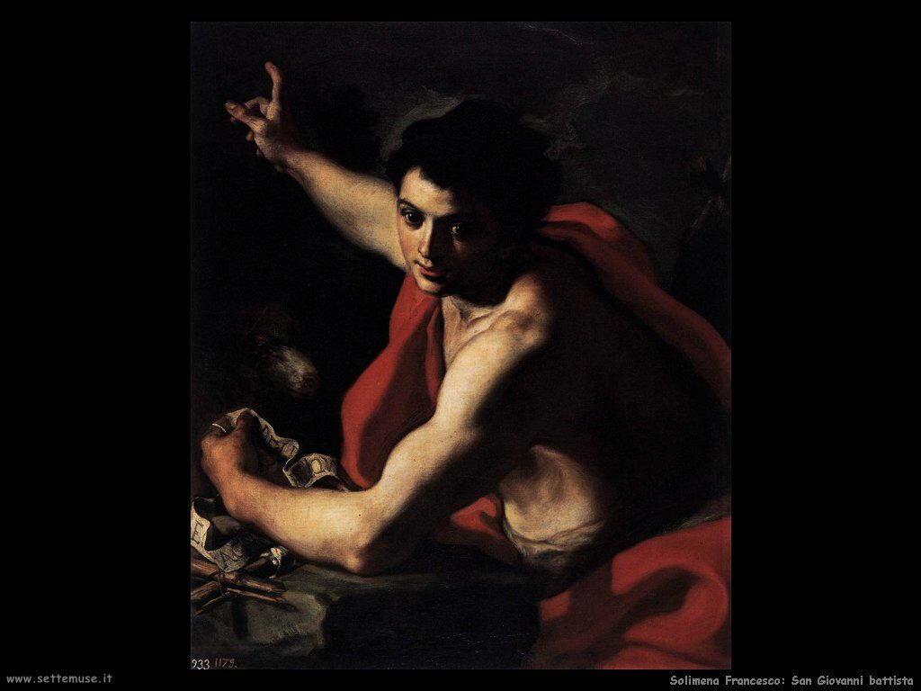 Solimena Francesco San Giovanni Battista