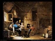 Sorgh Hendrick Maertensz Interno con contadini che giocano a carte