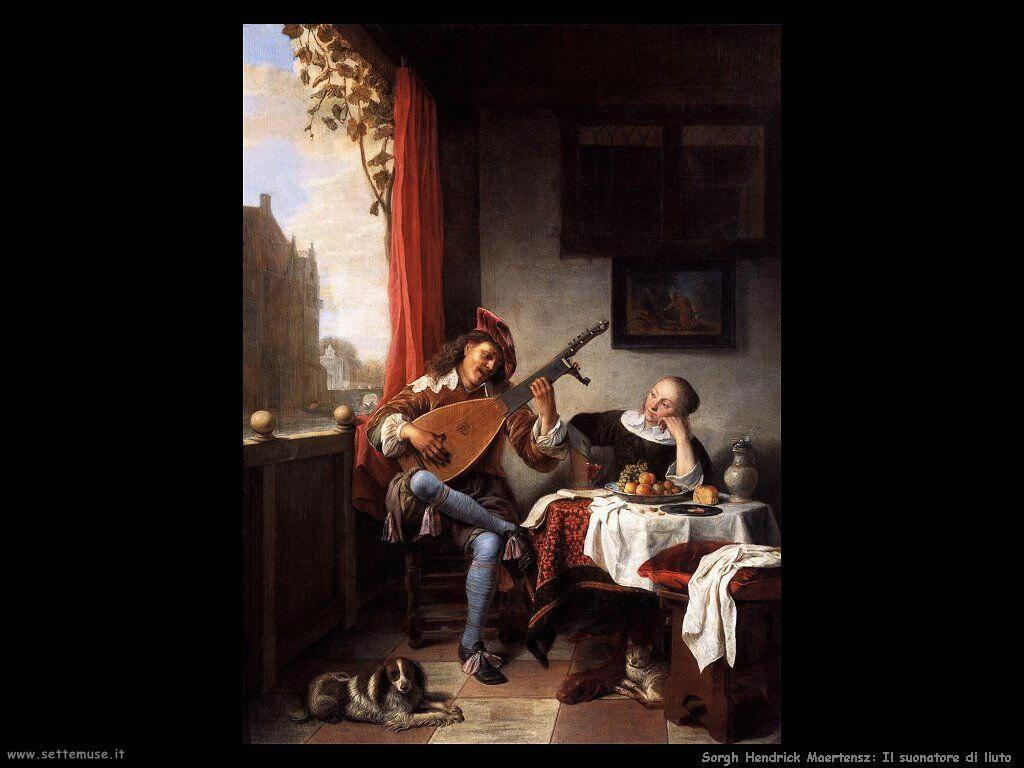 Sorgh Hendrick Maertensz Il suonatore di liuto