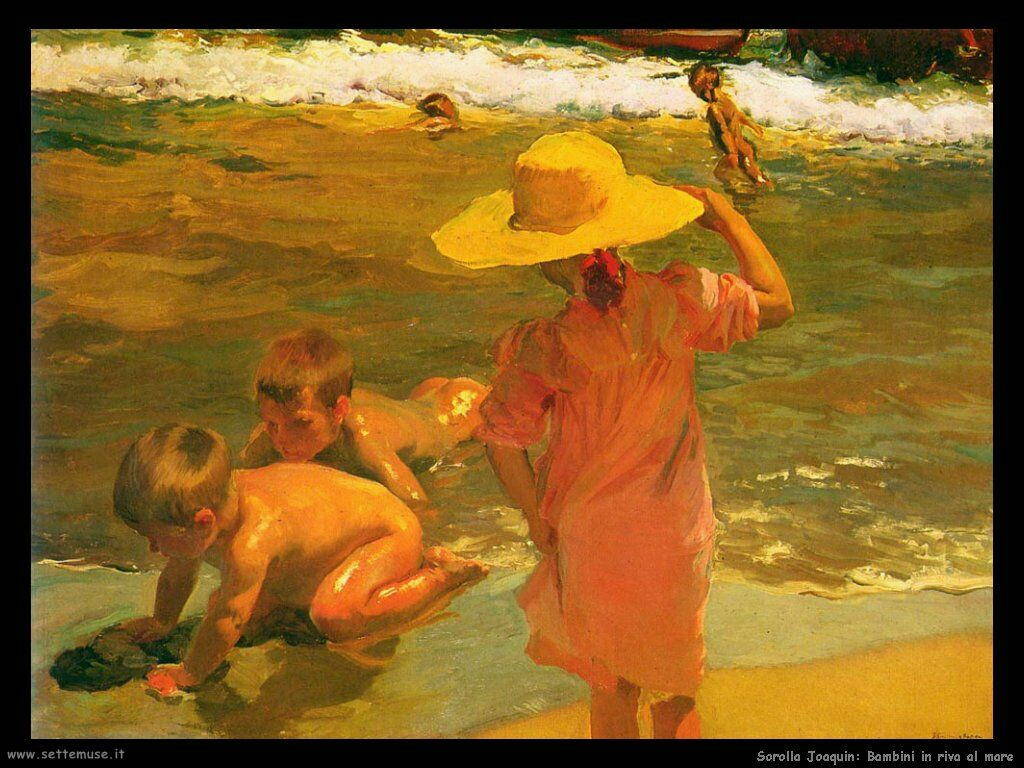 Favorito SOROLLA y BASTIDA JOAQUIN pittore biografia foto opere | Settemuse.it XP43