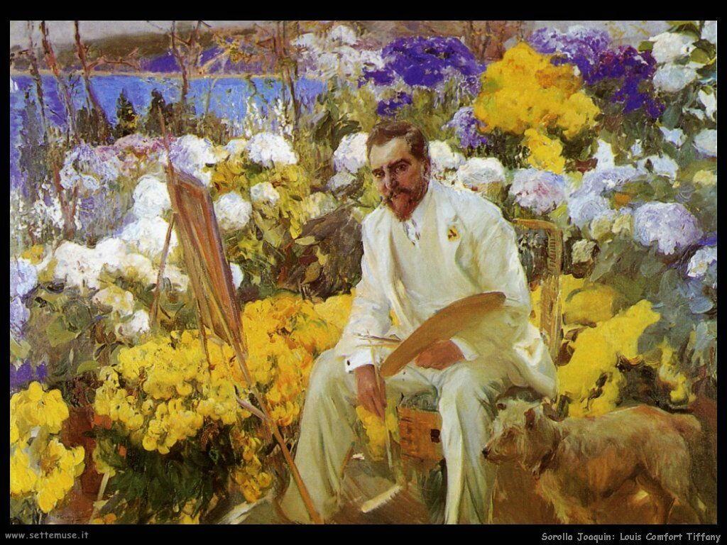 Ritratto di Louis Comfort Tiffany