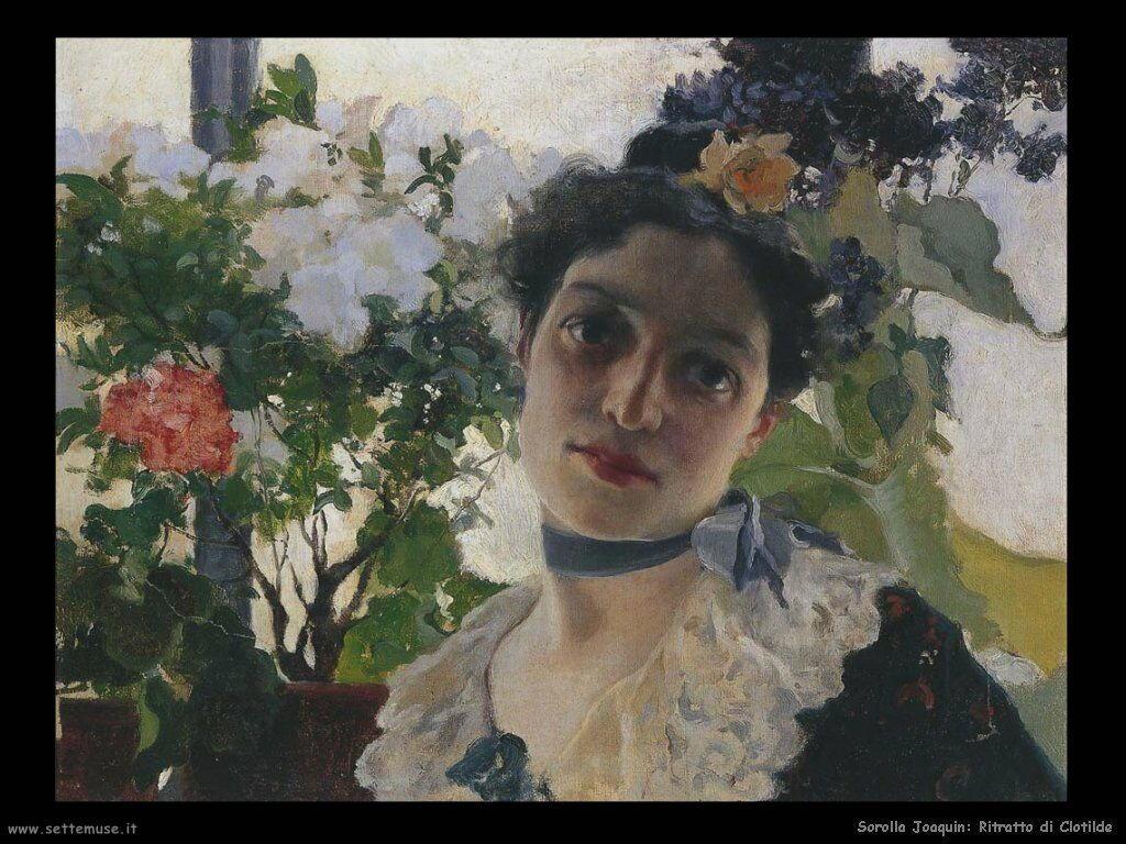 Ritratto di Clotilde