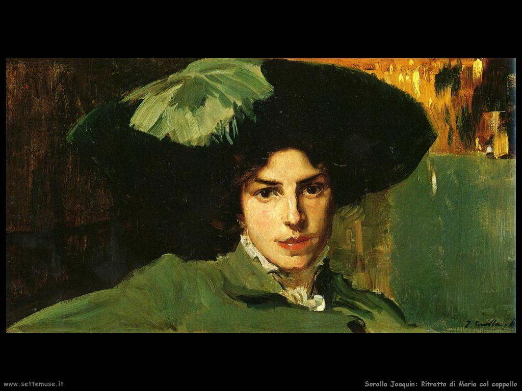 Ritratto di Maria col cappello