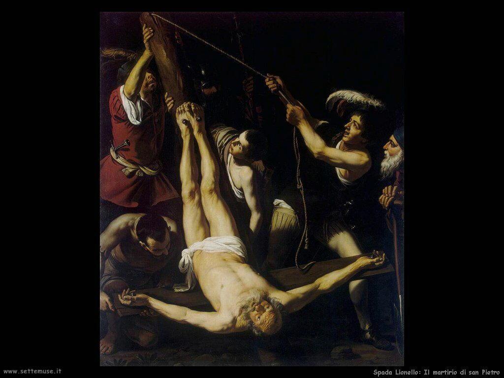 Spada Lionello Martirio di San Pietro
