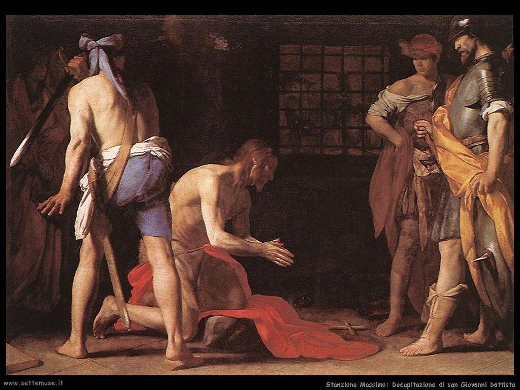Stanzione Massimo Decapitazione di San Giovanni