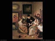 Steen Jan La visita del dottore  (1663)