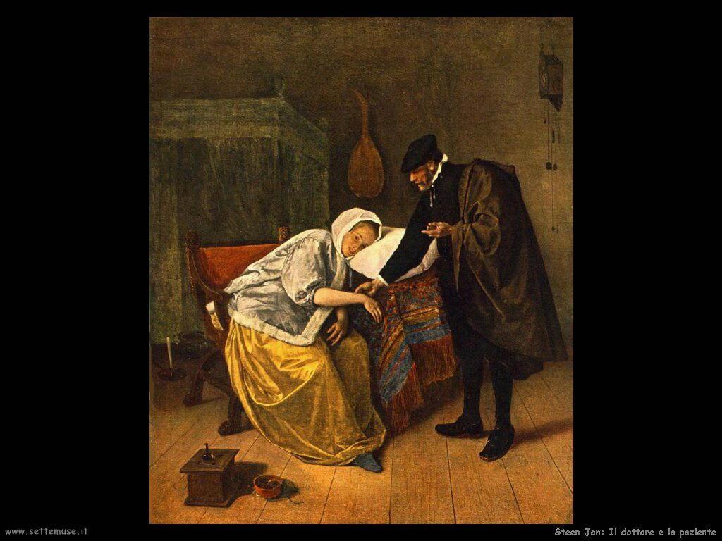 Steen Jan Il dottore e la sua paziente