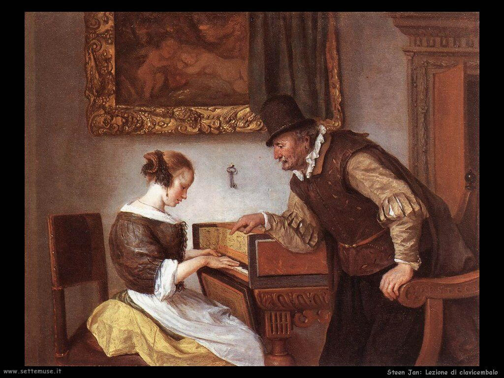 Steen Jan Lezione di clavicembalo