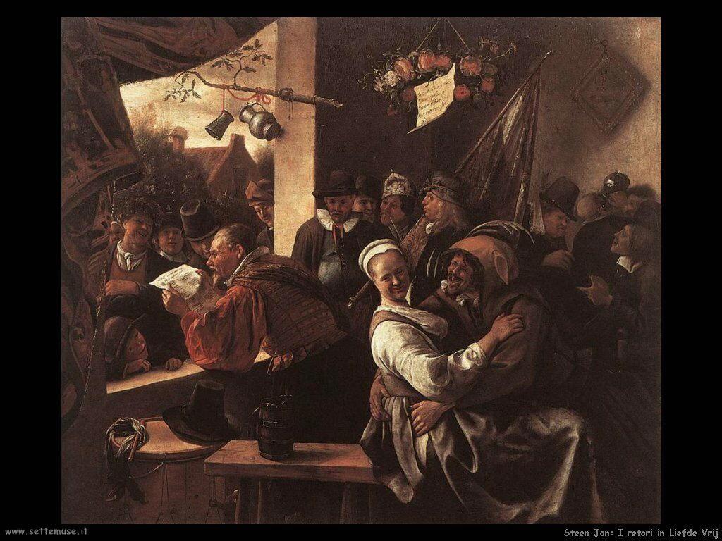 Steen Jan I retori in Liefde Vrij